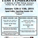 Fish Pemberton a Weekend of Free fishing seminars