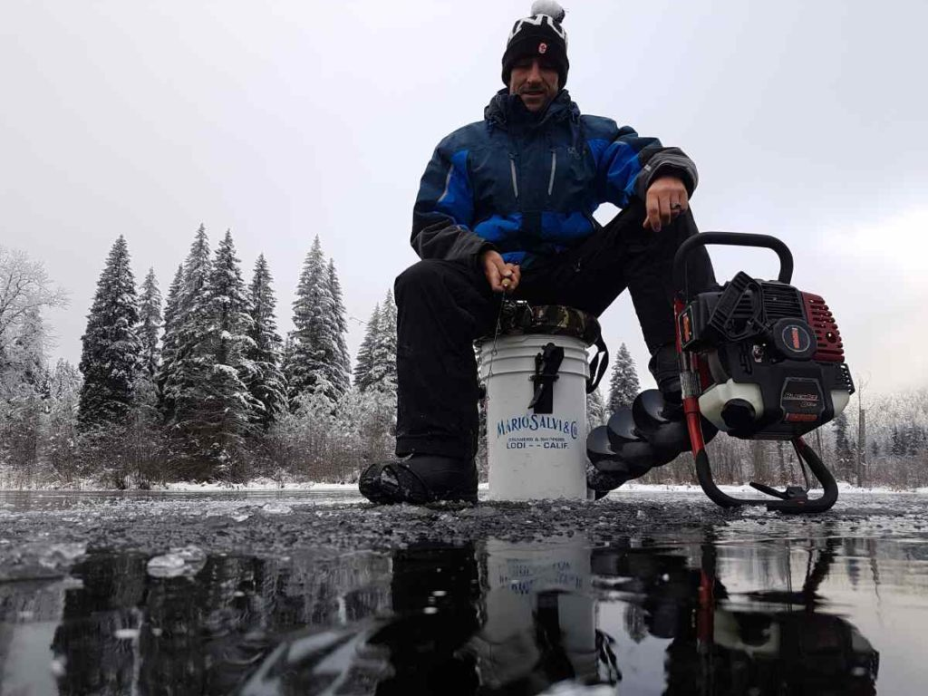The 2017 2018 ice fishing season has begun in whistler bc for Ice fishing canada