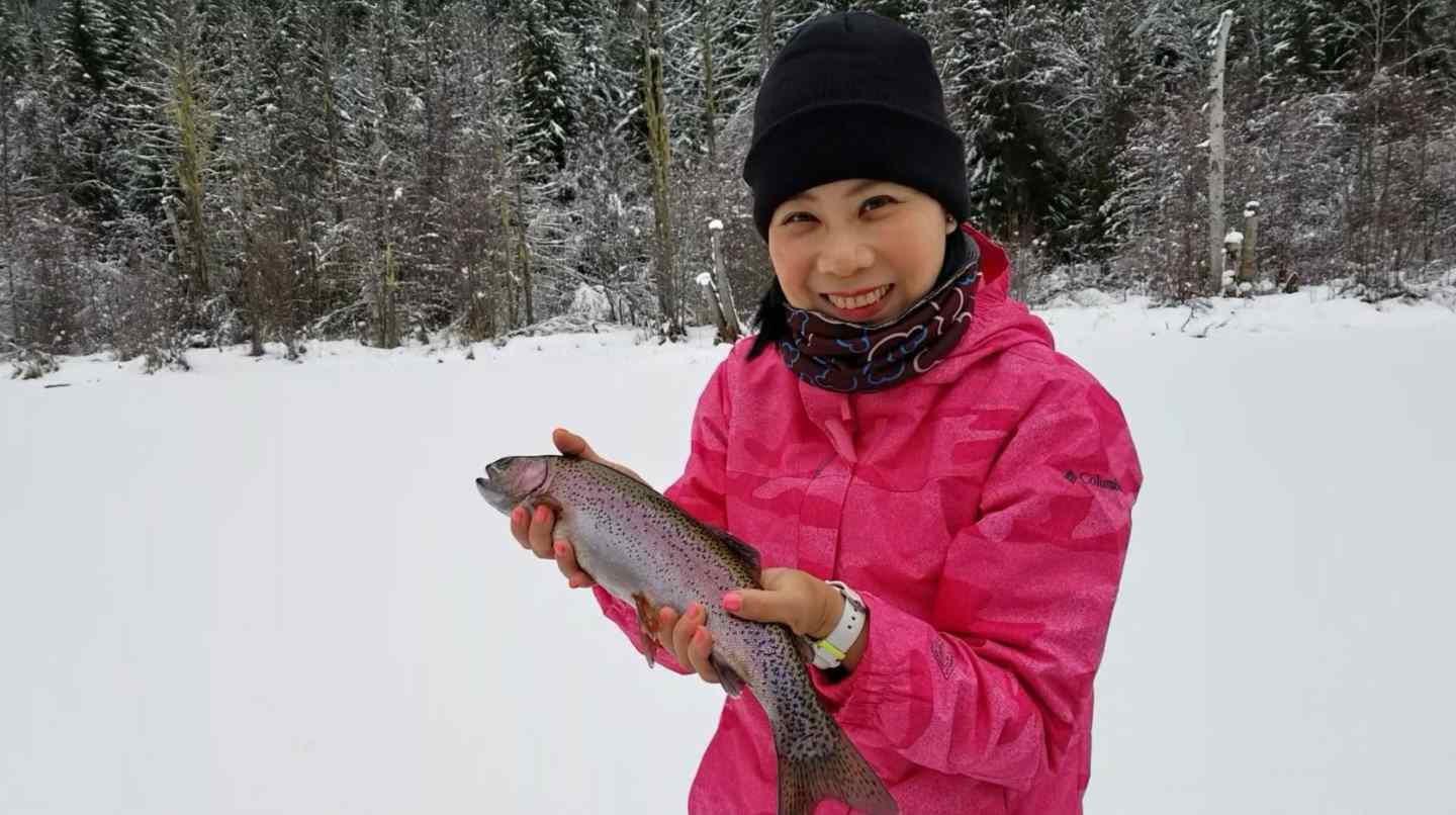 Ice fishing trips in canada bc fishing reports for New ice fishing gear 2017