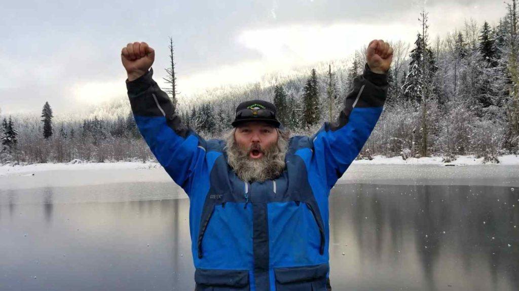 The 2017 - 2018 Ice Fishing season has begun