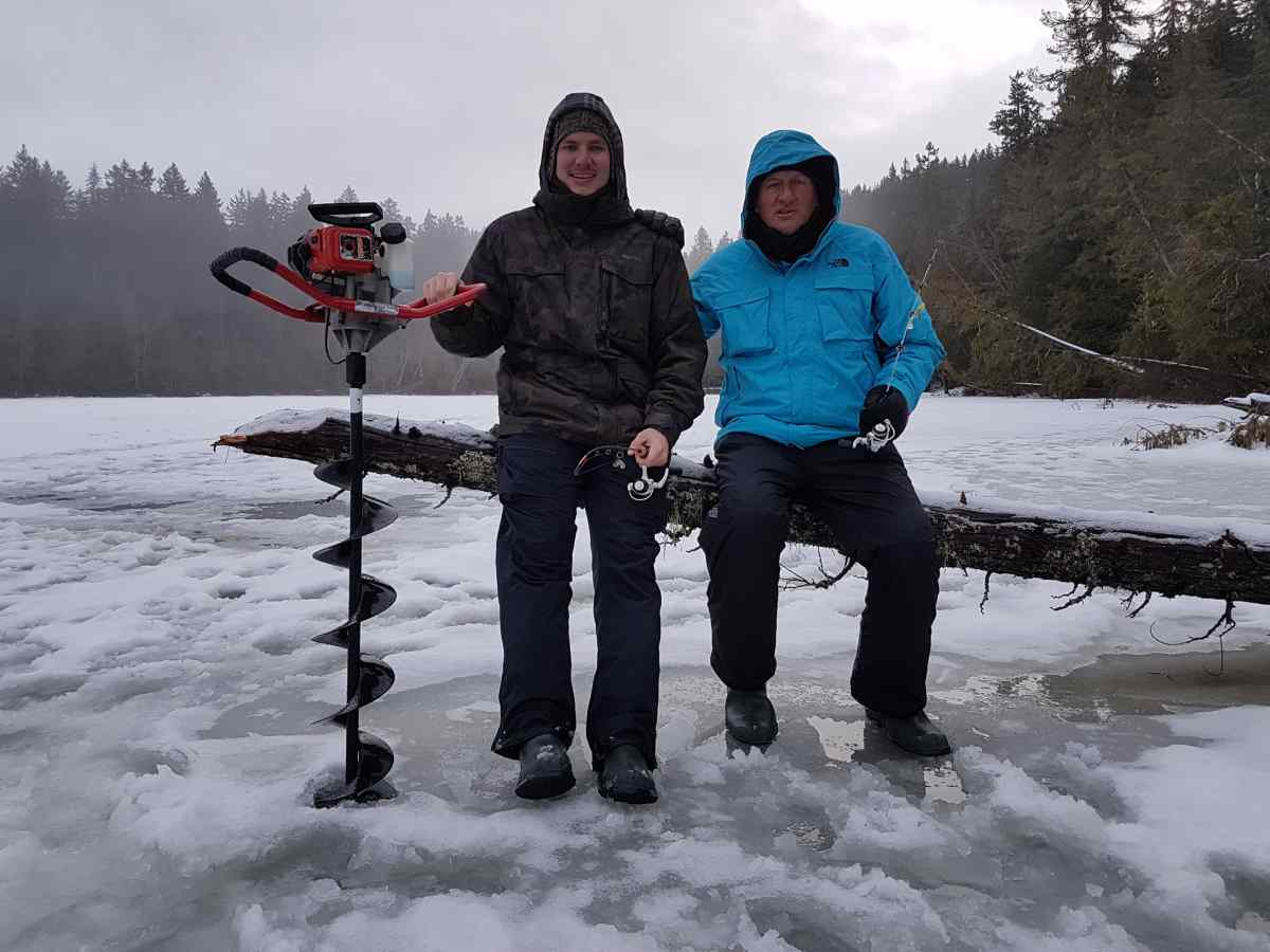 Popular ice fishing spots in whistler and pemberton for Ice fishing canada