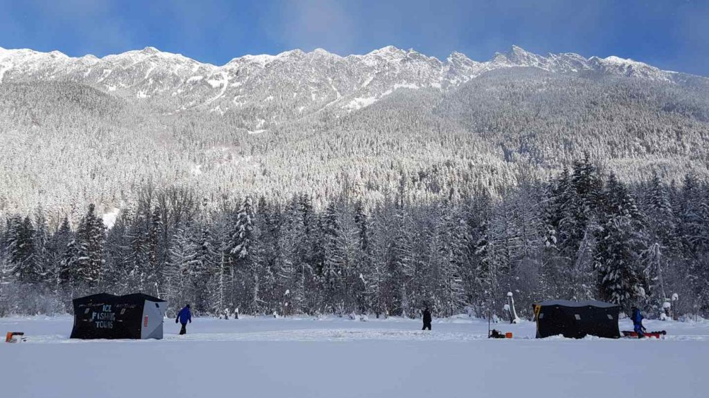 Whistler Ice fishing tours a Canadian winter experience