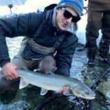 Winter fly fishing Squamish BC