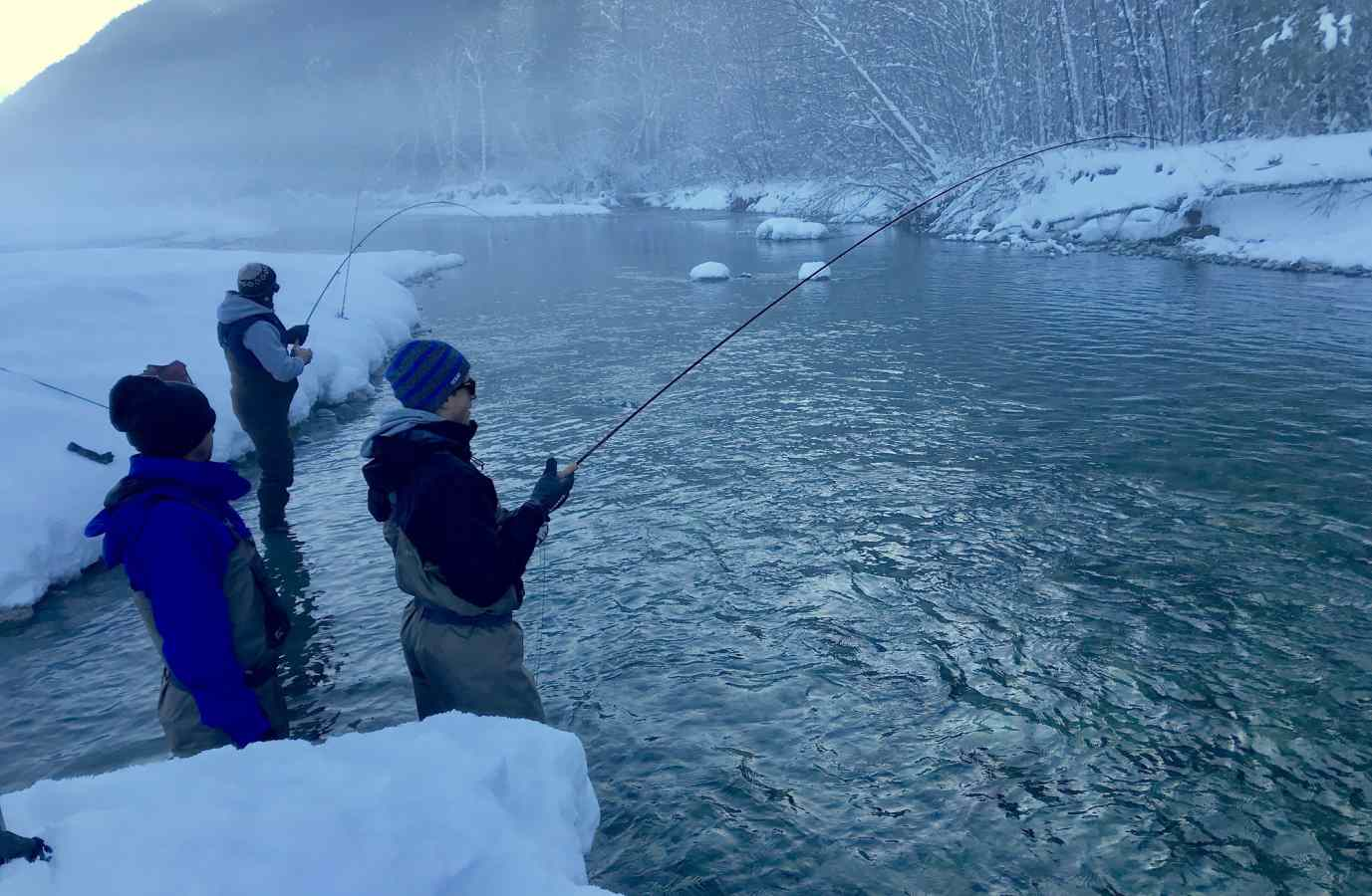 Great Winter Fly Fishing in Squamish British Columbia Canada