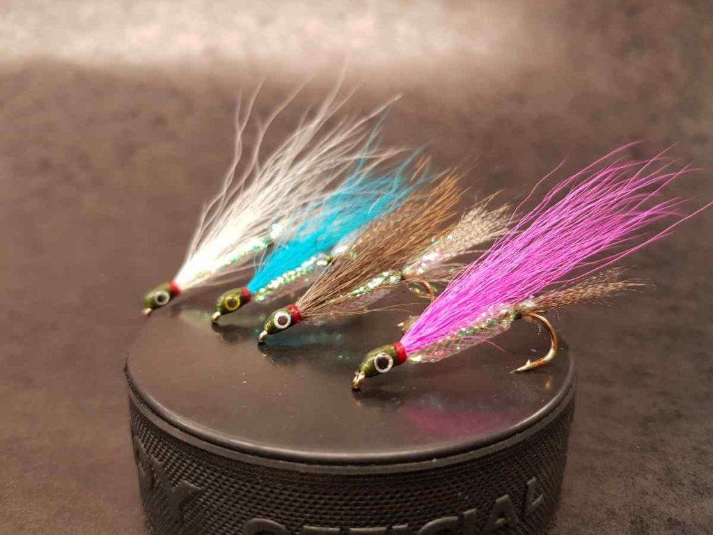 Friday Night Flies - Pemby Mylar Minnow Fly
