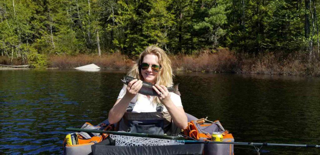 Mosquito lake fishing in Pemberton BC