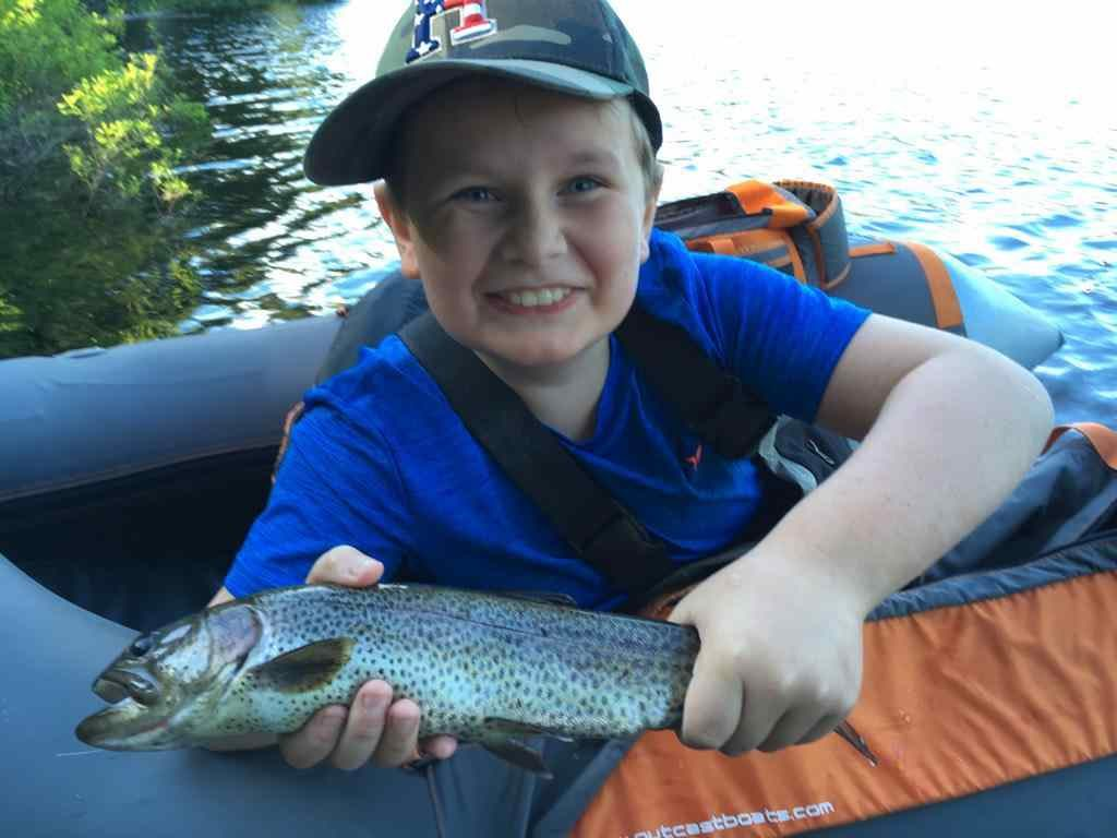 Fun Family fly fishing trips in Whistler BC