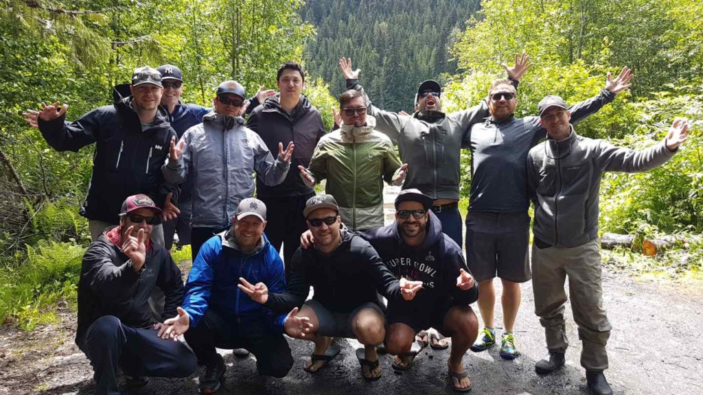 Fly Fishing a Fun Thing to do in Whistler British Columbia Canada