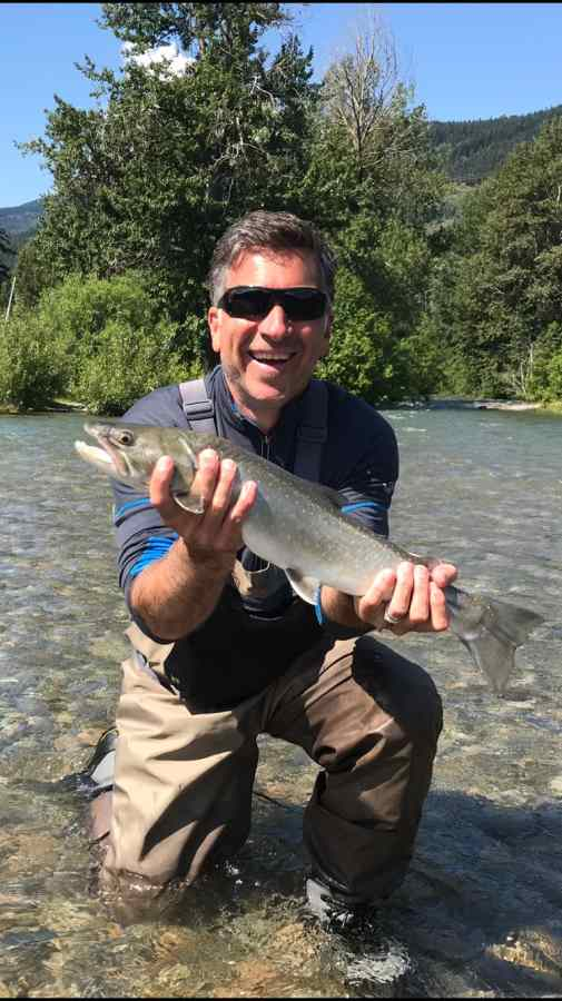 Fly fishing in Whistler BC