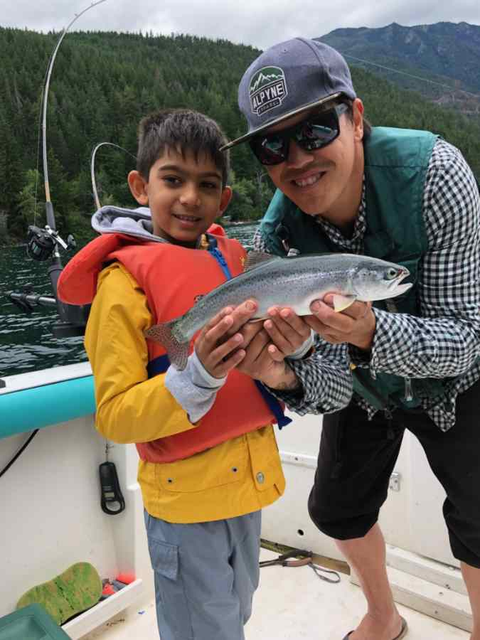 Freshwater fishing trips in BC