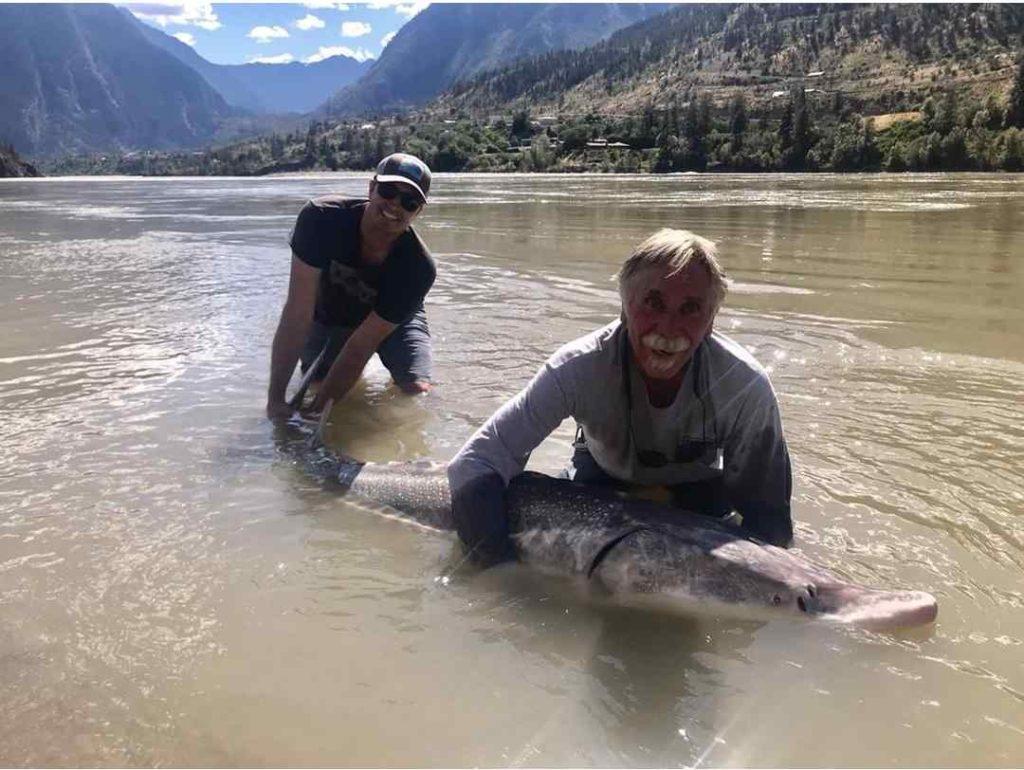 Whistler Sturgeon Fishing Trips