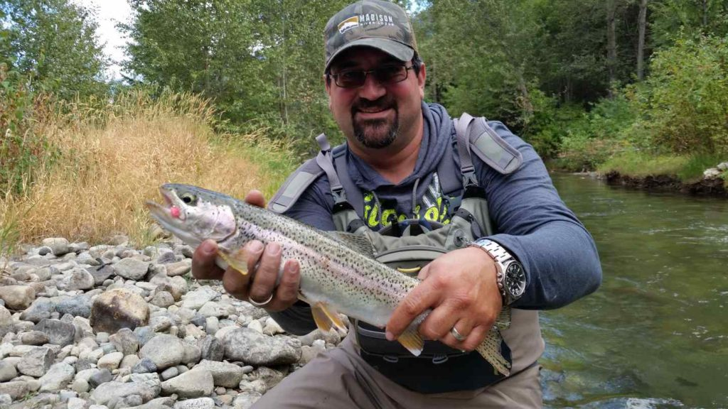 River fly fishing near whistler british columbia canada for Fly fishing british columbia
