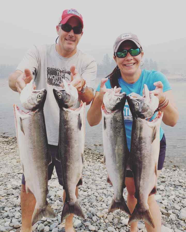 Sockeye Salmon Fishing in BC Canada