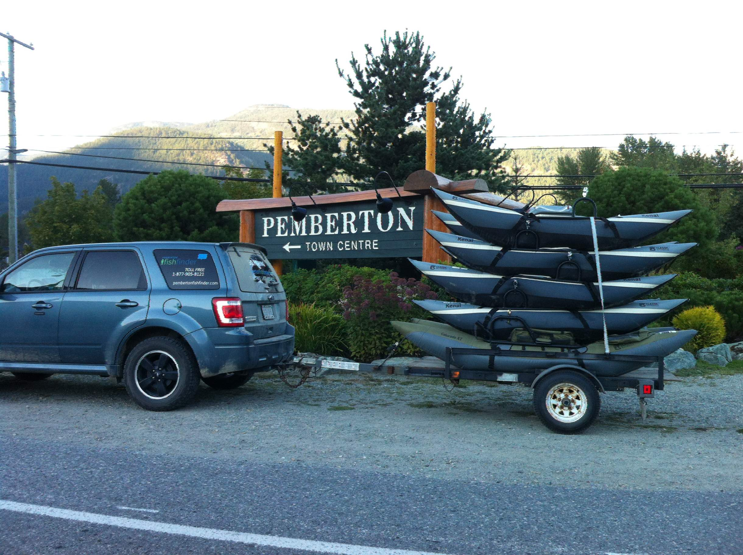 Things to do and activities in pemberton or whistler bc canada for Rent fishing gear