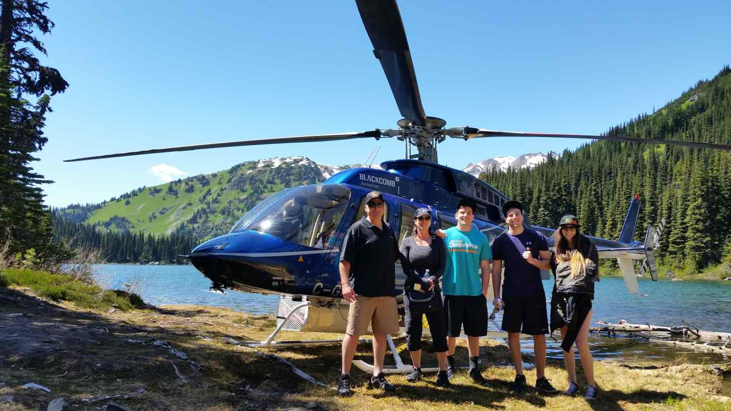 Helicopter fishing trips in british columbia canada for Fishing trips in canada