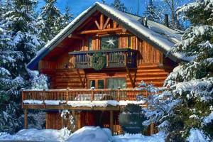 log house inn