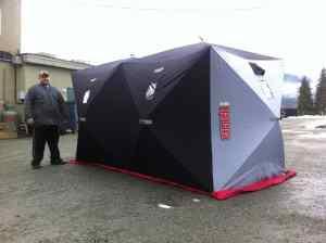 ice hut rentals