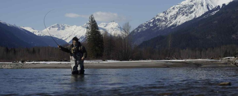 Fly fishing Whistler British Columbia Canada