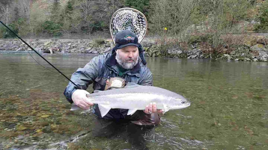 Steelhead Fly Fishing Trips in Squamish BC Canada